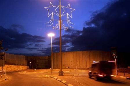 Bethléem encerclée 24 décembre 2005