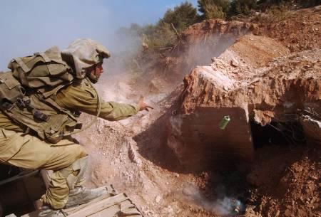 Forces spéciales israéliennes au Liban sud le 27 août 2006