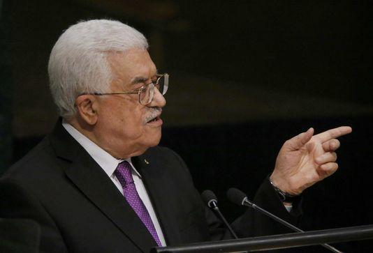 « La Palestine mérite d'être reconnue en tant qu'Etat à part entière », a lancé le président de l'Autorité palestinienne, Mahmoud Abbas, mercredi 30 septembre, devant l'Assemblée générale de l'ONU. Carlo Allegri / Reuters