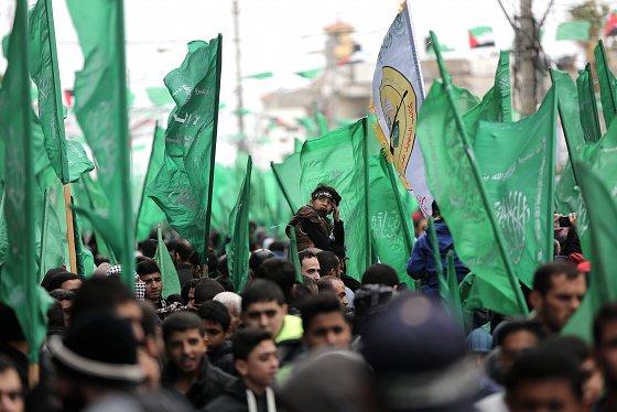 Manifestation du 29e anniversaire de la fondation du Hamas. alquds.com, 12 décembre 2016.