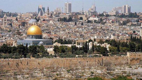 Vue de la vieille ville de Jérusalem. Wayne McLean