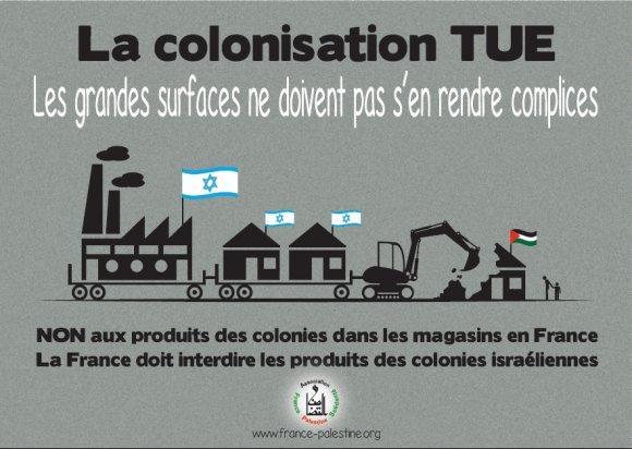 Visuel non aux produits des colonies