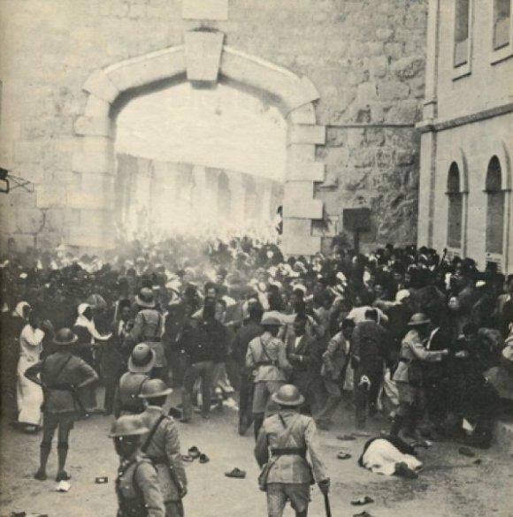 Photo de la Révolution d' al-Buraq en 1929